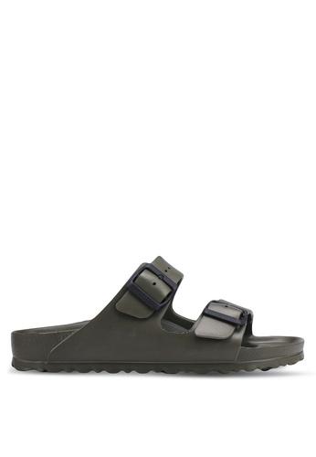 Birkenstock 綠色 Arizona EVA Sandals F9C57SH473EE09GS_1
