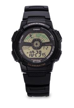 Digital Watch AE-1100W-1BVDF