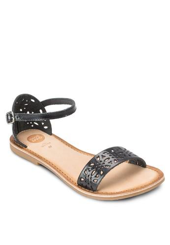 Kinaesprit auli W 雕花包跟涼鞋, 女鞋, 鞋