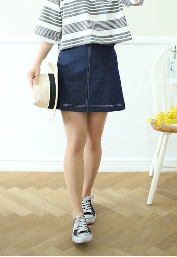 Iris 丹寧短裙、 服飾、 春夏時尚ShopsfashionIris丹寧短裙最新折價