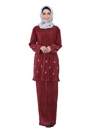 fefd95990a28 Buy ARCO Mekar Pleated Kurung Online | ZALORA Malaysia