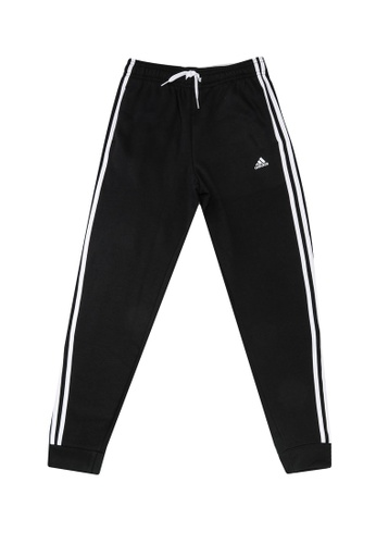 ADIDAS black adidas essentials 3-stripes pants D5221KAE50DEC1GS_1