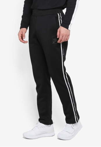 FILA black Heritage Knit Pant 6BF39AA369F675GS_1