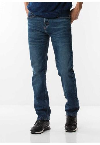 Levi's blue Levi's 505 Regular Fit Jeans 3CC79AAA3DF668GS_1