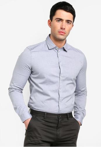 Sisley multi Long Sleeves Shirt. 501F4AA12F8D6DGS_1