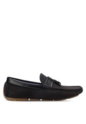 UniqTee black Tassel Loafers UN097SH35REYMY_1