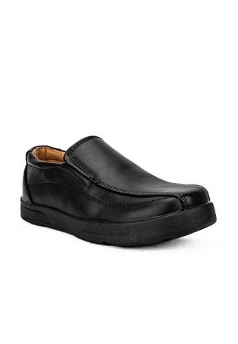 Mario D' boro Runway black CS 25378 Black Formal Shoes CB65BKS24180DAGS_1