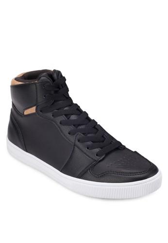 混合拼接高筒休zalora 內衣閒鞋, 鞋, 休閒鞋
