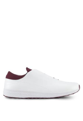 ZALORA white Hidden Lace Sneakers FD4C5SH21B1121GS_1