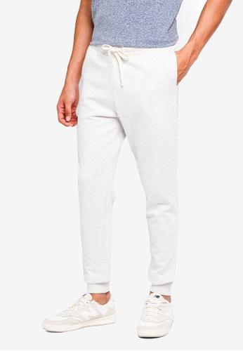Jack & Jones 白色 Comfort Fit Sweat Pants B7375AA2766674GS_1