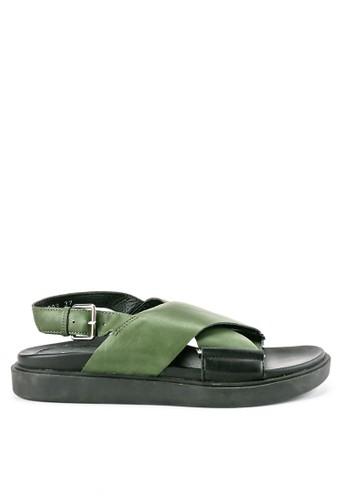 ELLE green Ladies Sandals 30209Za 7F89FSH2BC3E95GS_1