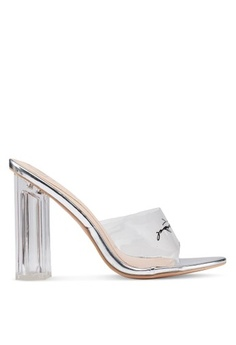 85ddbe6c098 MISSGUIDED. Perspex Party Block Heels