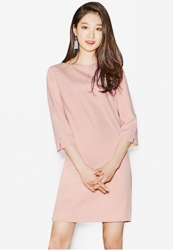 七分袖連身esprit台灣網頁裙, 服飾, 洋裝