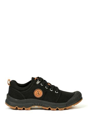 Aigle black Women's Tenere Low Hiking Shoes 3AB9DSH264DA36GS_1
