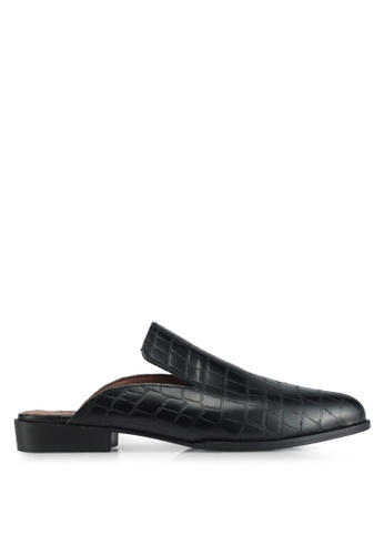 TOPSHOP black Kingdom Backless Slip-On 5716CSH8E9DDC6GS_1