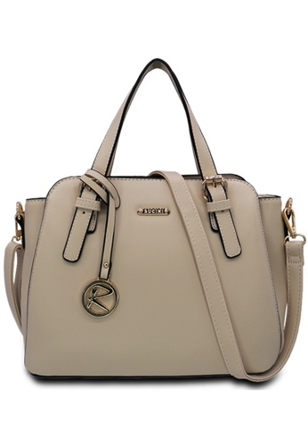 RUCINI beige Rucini Rachelle Satchel Handbag BE4A0ACB427092GS_1