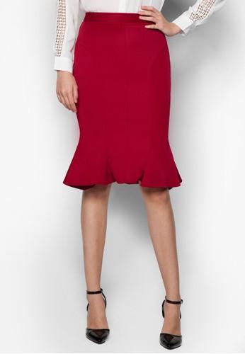 Roxannezalora 台灣門市 魚尾鉛筆裙, 服飾, 服飾