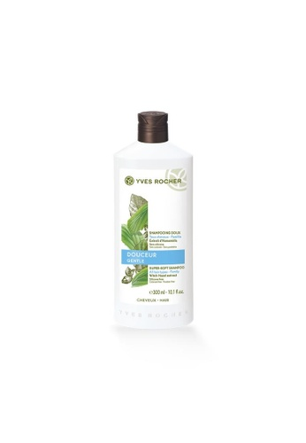 Yves Rocher white Yves Rocher Gentle Super-soft Shampoo with Witch Hazel -300ml YV460BE36LKHSG_1