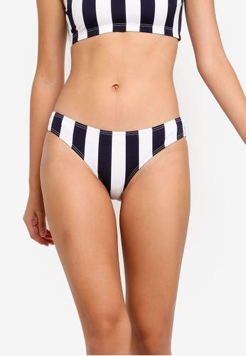 Pieces navy Bea Bikini Bottom 564E3US220FA55GS_1