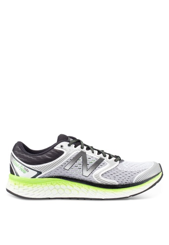 New Balance white 1080 Performance Running Shoes 1F055SH877CB1FGS_1