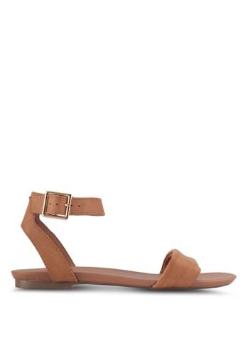 Dorothy Perkins brown Tan Comfort Fran Sandals F3927SH8D23206GS_1