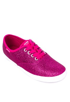 Canvas Lace-up Sneakers