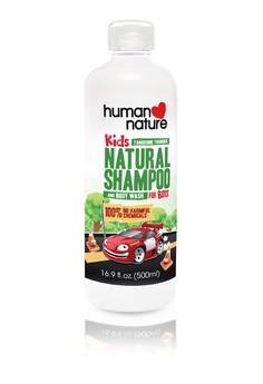 Kids Natural Shampoo & Body Wash Tangerine Thunder 500ml