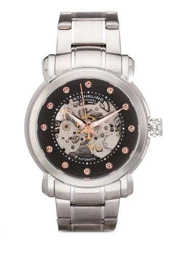 Stuhrling Original silver 644 Watch ST251AC38MZHMY_1