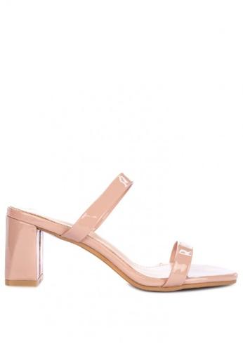 8447440f061 Shop Rock Rose Minimalist Block Heel Sandals Online on ZALORA Philippines