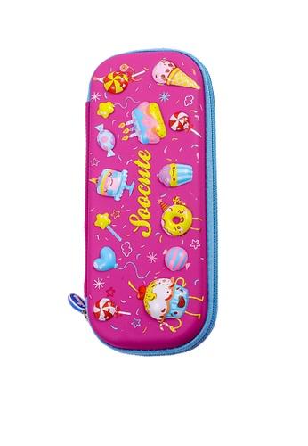 Twenty Eight Shoes pink VANSA 3D Cartoon Pencil Case  VAK-A99887 5ECBDKCFCB2B64GS_1