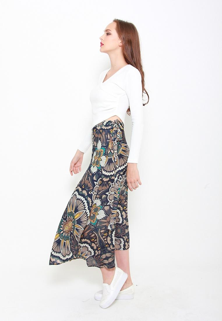 Top Hi Sophialuv Knit Lo White in White 8wttg