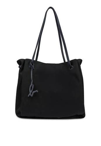 agnès b. black Shoulder Tote Bag 79E9AACBBE7BADGS_1