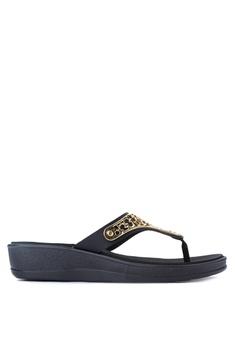 Terra & Agua black Comfort Sandals TE240SH0ISWFPH_1