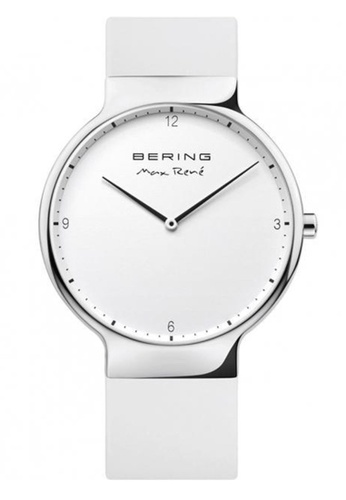 Bering silver Max Rene 15540-904 White 40 mm Men's Watch E07D9ACFAF1414GS_1