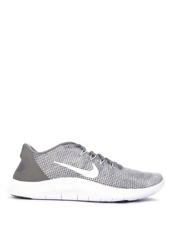 Nike grey Nike Flex RN 2018 Shoes 40A32SH8095D0FGS_1