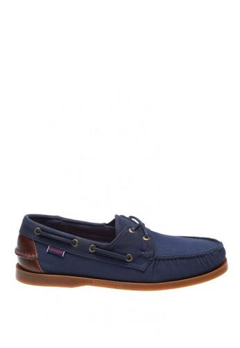 Sebago navy Spinnaker Men Boat Shoes SE328SH0K35QPH_1