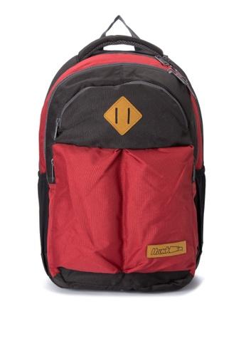 Hawk black Reinvented Lock-Stitch Backpack HA267AC0IQPSPH_1