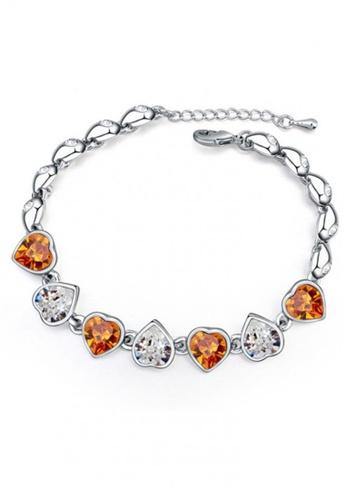 LOVENGIFTS gold LOVENGIFTS Sweet Love Bracelet (Amber) 60731ACC92C31DGS_1