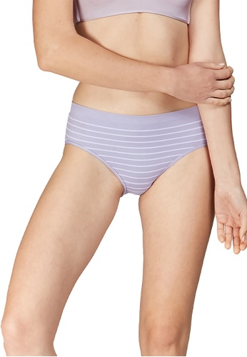 6IXTY8IGHT grey CHAR AOP, Circular Knit Hiphugger Panty PT09903 89E24US3105539GS_1