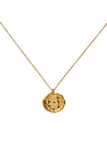 Mango gold Capricorn Horoscope Necklace 67F66AC60CFA46GS_1