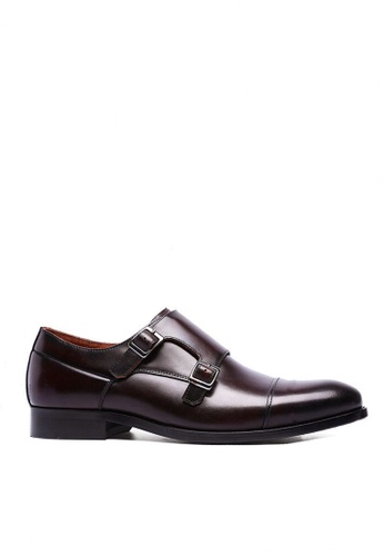 Twenty Eight Shoes Galliano復古真皮孟克皮鞋 6718 E24C0SHACCF690GS_1