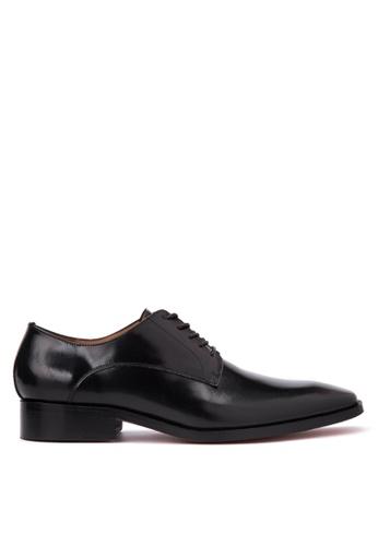 Bristol Shoes black Matthew Black Plain Toe Derby BR842SH48KDBPH_1
