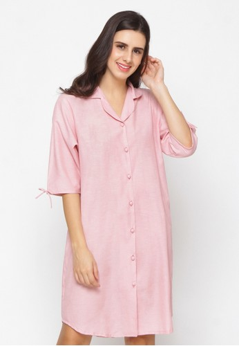 Impression pink Nightdress Calista 9101 3DC97AADE05BD2GS_1