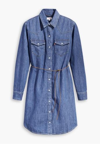 Levi's blue Levi's Ultimate Western Dress 86838-0000 06B34AAF2AF1A7GS_1