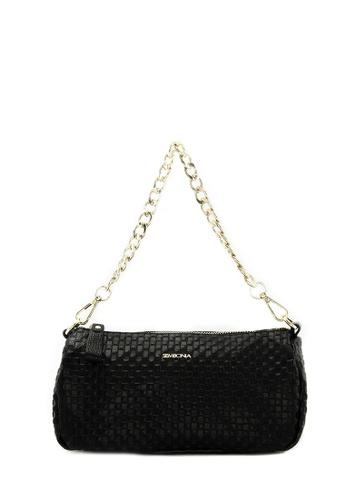 SEMBONIA black Genuine Leather Tote Bag (Black) SE598AC0SS2KMY_1