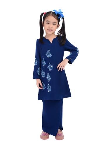 D'YANA blue BAJU KURUNG D'YANA - NOELLE (KIDS) A0DE9KA944E9E2GS_1