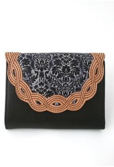 Secret Garden Coin Purse Leather Wallet