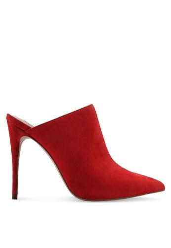 Steve Madden red Darlene Pointed Mule Stiletto Heels C5E63SH406ADE5GS_1