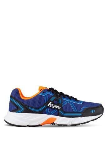 Legas blue and multi Strakto LA Men's Shoes LE684SH0S2N1MY_1