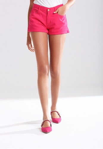 London Rag pink Trendy Colorful Shorts 81D15AA1E55418GS_1